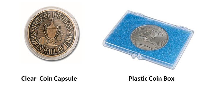 Plastic Coin Packaging