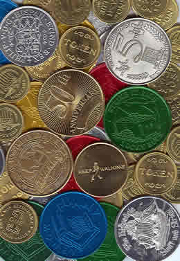 Metal Coins and Tokens